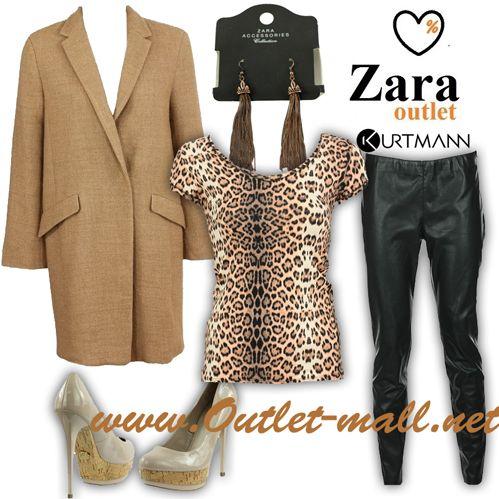 Outfit de toamana cu noutati din outletul Zara   Outlet online