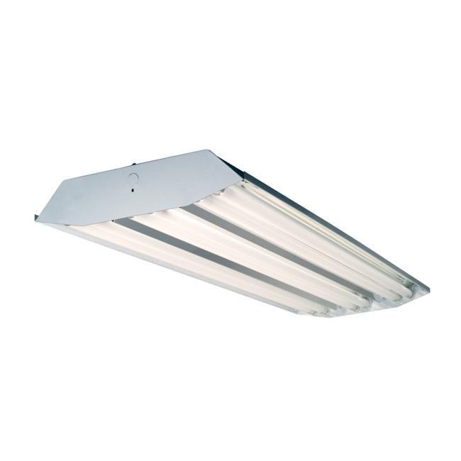 HIGH OUTPUT T5 Bulb T5HO Fluorescent Light Fixture High Bay 6 Lamp NEW