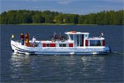 Penichette holiday barges boat fleet in Ireland