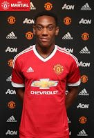 Raring to go: Manchester United new boy Antony Martial is unfazed by price tag pressure.