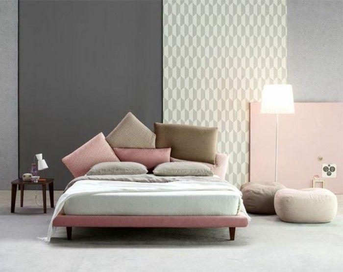 Les 25 meilleures id es de la cat gorie chambres coucher for Chambre rose pale
