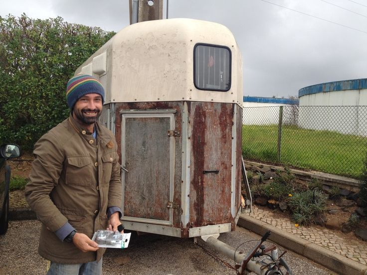 Building the food trailer - The Little Kitchen Company Portugal
