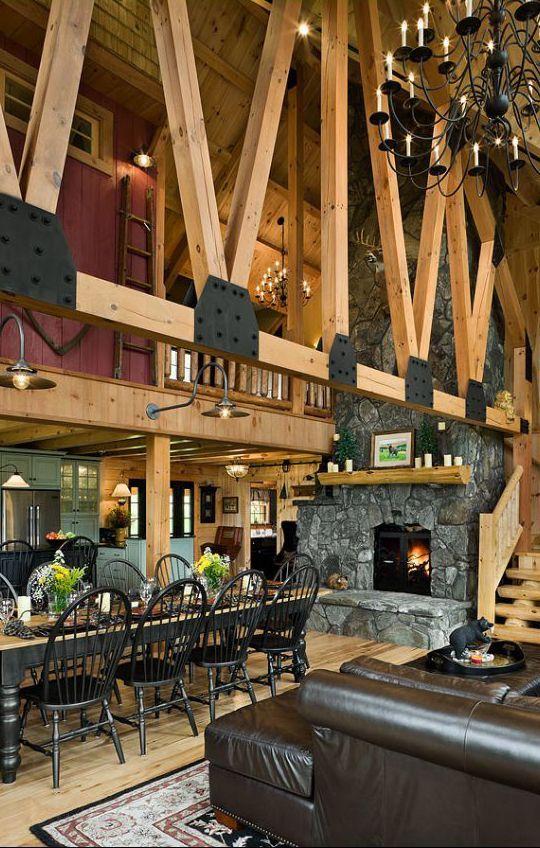Rustic Kitchens Canadian Log Homes LogHomeInteriors
