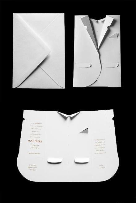 A fashion show invitation card