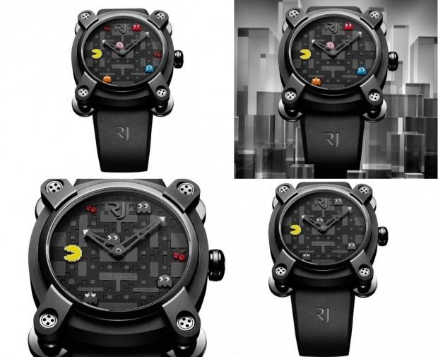 Designer cria relógios de luxo com Pac-Man