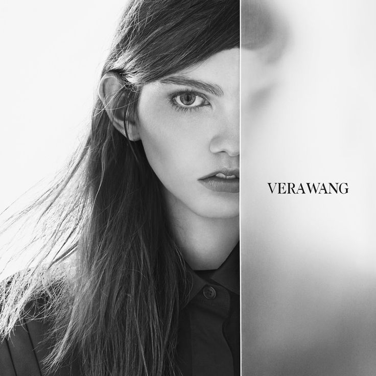 An image from Vera Wang's spring 2016 campaign