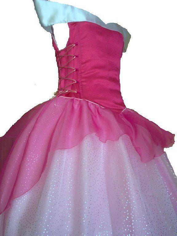 como hacer disfraz princesa (5) | Aprender manualidades es facilisimo.