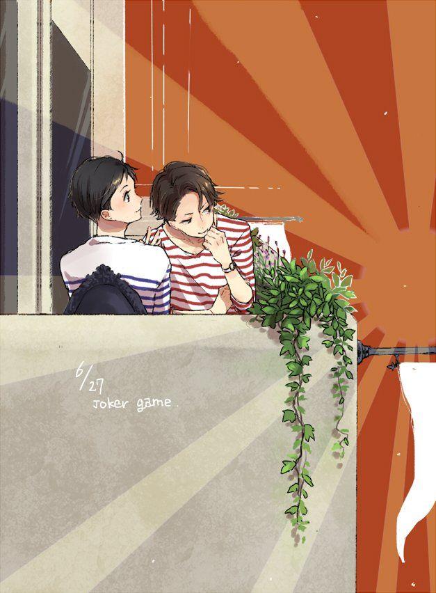 Miyoshi and Jitsui || Joker Game