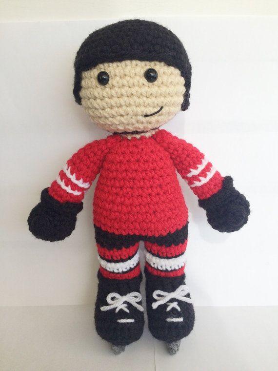 Kawaii Potato Amigurumi : CROCHET PATTERN: Hockey Player Amigurumi crochet pattern ...
