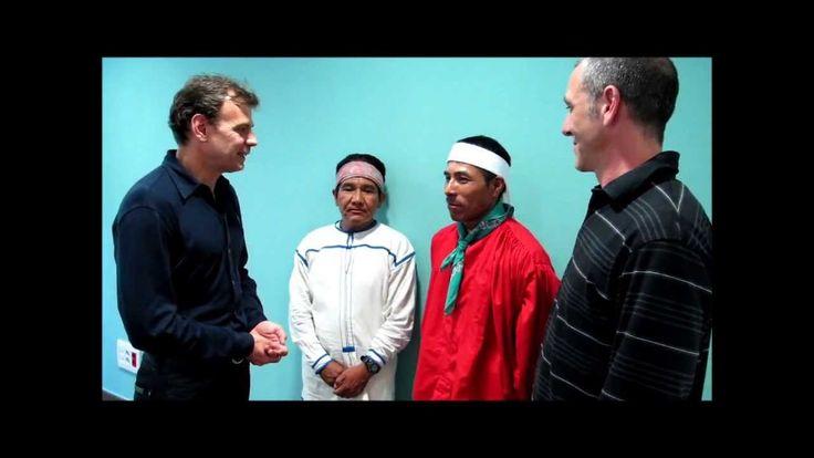 Tarahumaras. Correr descalzos: Entrevista a Silvino y José Cruz por Mayayo.
