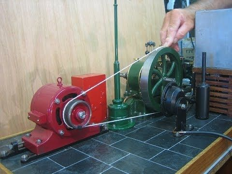 how to make generator from car engine