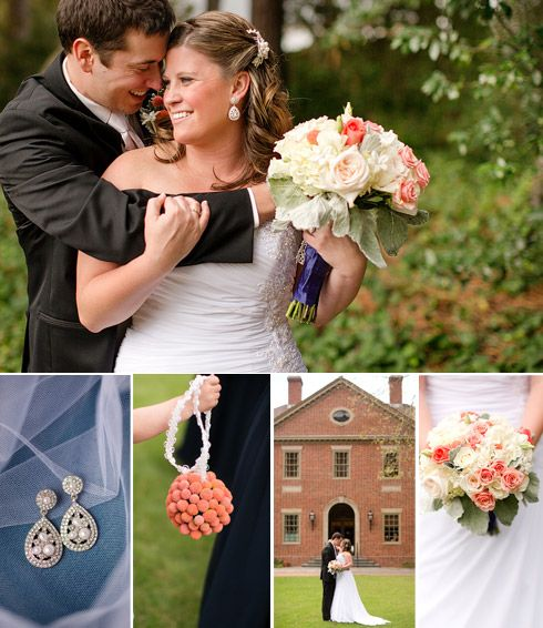 Handmade Texas Wedding Polly Matthew: 17 Best Images About Navy And Coral Wedding On Pinterest