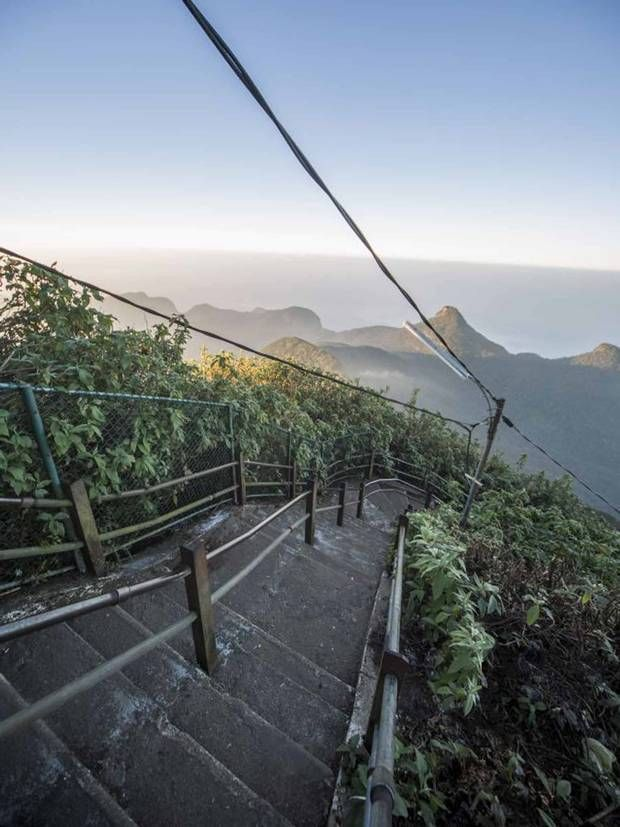 Adam's Peak: Trekking Sri Lanka's most sacred mountain - Asia - Travel - The Independent