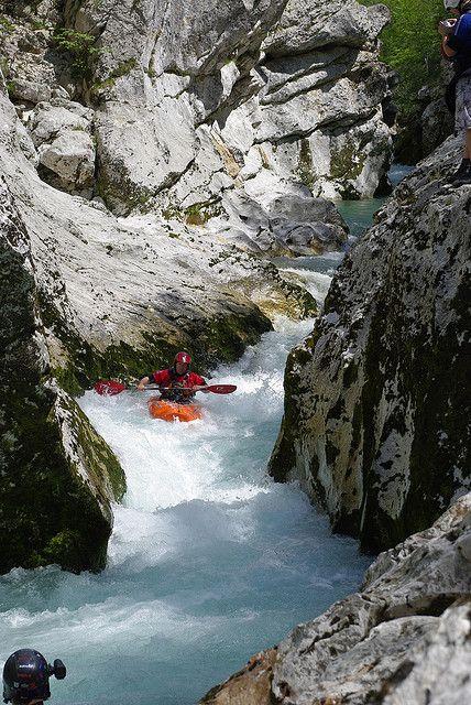 Kayaking On Soca River