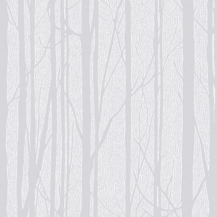 Craig U0026 Rose White Trees Paintable Wallpaper