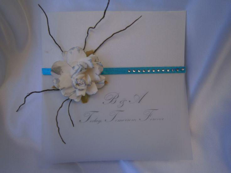 """Chanel"" Wedding Invitation https://www.facebook.com/LuPerlaInvitations"