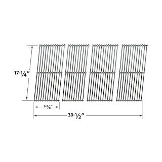 Grillpartszone- Grill Parts Store Canada - Get BBQ Parts, Grill Parts Canada: Duro Cooking Grid | Replacement 4 Pack Stainless S...