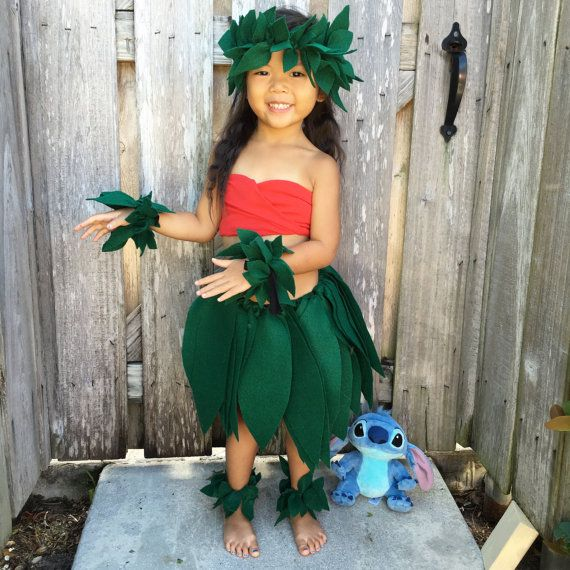 Lilo hula skirt by Mamamadeitwithlove on Etsy