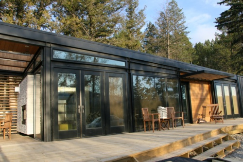 Karoleena Cabins Prefab ulous Pinterest Prefab Cabin and Modern