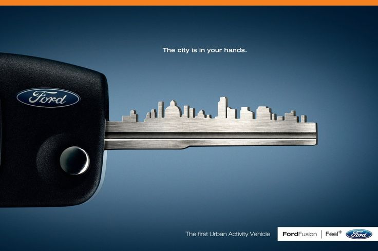 The 'city in your hands' campaign – by Ford