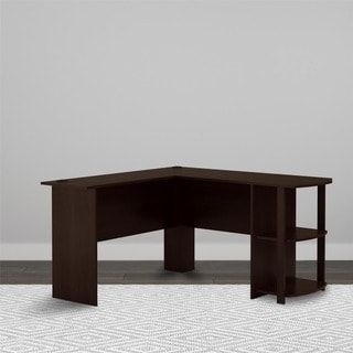 Shop for Avenue Greene Abbott L-shaped Desk with Bookshelves. Get free delivery at Overstock.com - Your Online Office Furniture Store! Get 5% in rewards with Club O! - 17734225
