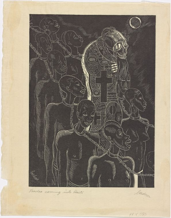 Voodoo Coming into Haiti From New York Public Library Digital Collections.