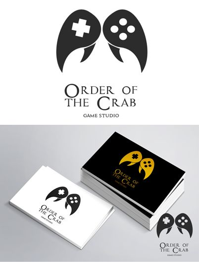 Logo for Order of the Crab http://www.orderofthecrab.com/ #logoinspiration
