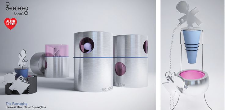"""Object Design Competition """"Alessi In Love - Everytime an Act of Love"""" - Boooog"""