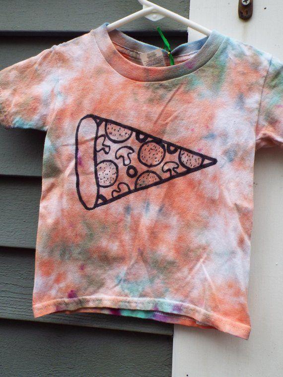 Kleinkind Pizza Shirt 3 t Tie Dye Shirt, Pizzaliebhaber, lustige Kleinkind Shirt, Kleinkind Mädchen, Kleinkind Jungen,