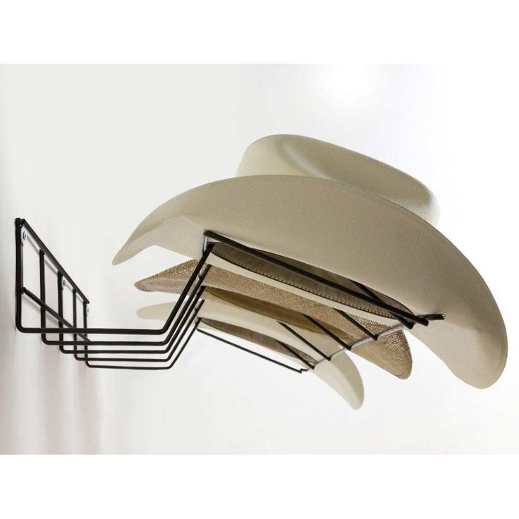 Found it at www.dcgstores.com - ♥ ♥ Cowboy Hat Rack - Coated Wire, Black ♥ ♥