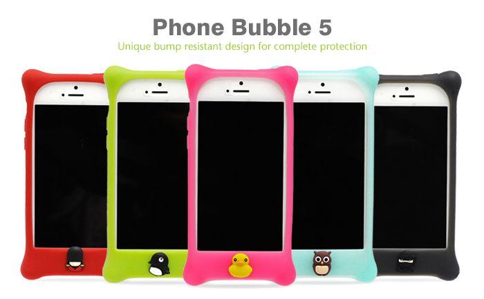 Protege tu iPhone 5 con esta excelente carcasa hecha en silicona. A demás, es 100% biodegradable y está disponible en los colores azul, negro, verde, rosado, rojo, blanco y amarillo.