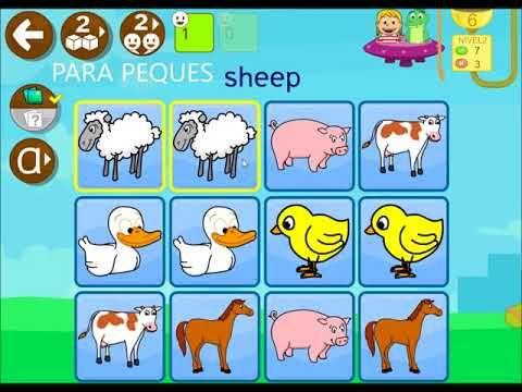 ENGLISH 456 Aprender ingles para ninos - Juegos infantil