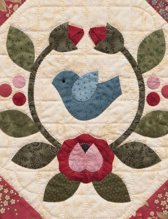 46 best Quilting: Baltimore Quilts images on Pinterest | Appliqué ... : baltimore quilt blocks - Adamdwight.com