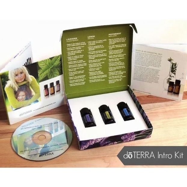 Doterra (C) Intro To EO KIT 100% CPTG Therapeutic Grade Essential Oils CCA #doTerra