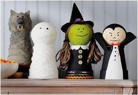 Manualidades faciles y divertidas para Halloween