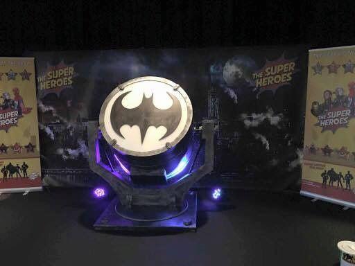 Batsignal raising money for charity