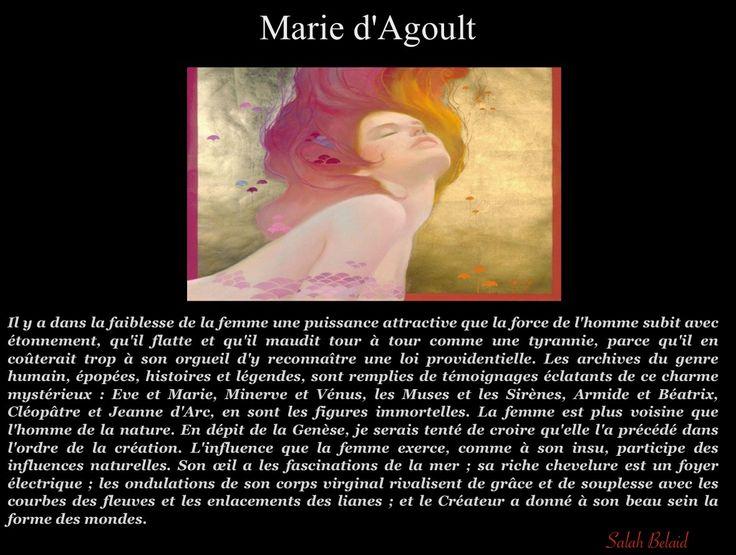 La Pensée Du Jour: Bonne fête à toutes les Femmes (Marie d'Agoult)