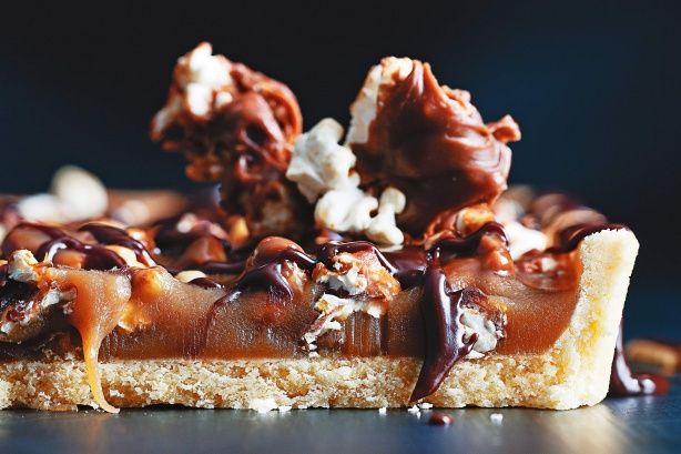 Fantale popcorn caramel tart main image