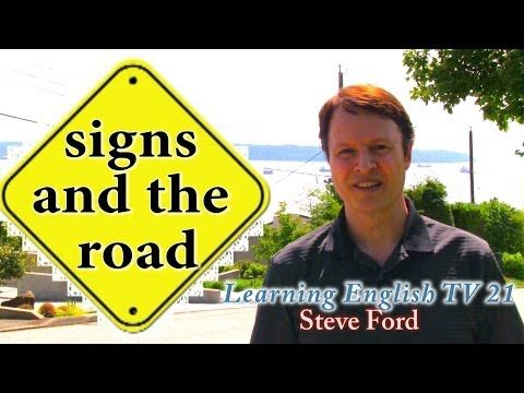 How to Learn Real English - Learning English TV 21 - Steve Ford - http://www.thehowto.info/how-to-learn-real-english-learning-english-tv-21-steve-ford/
