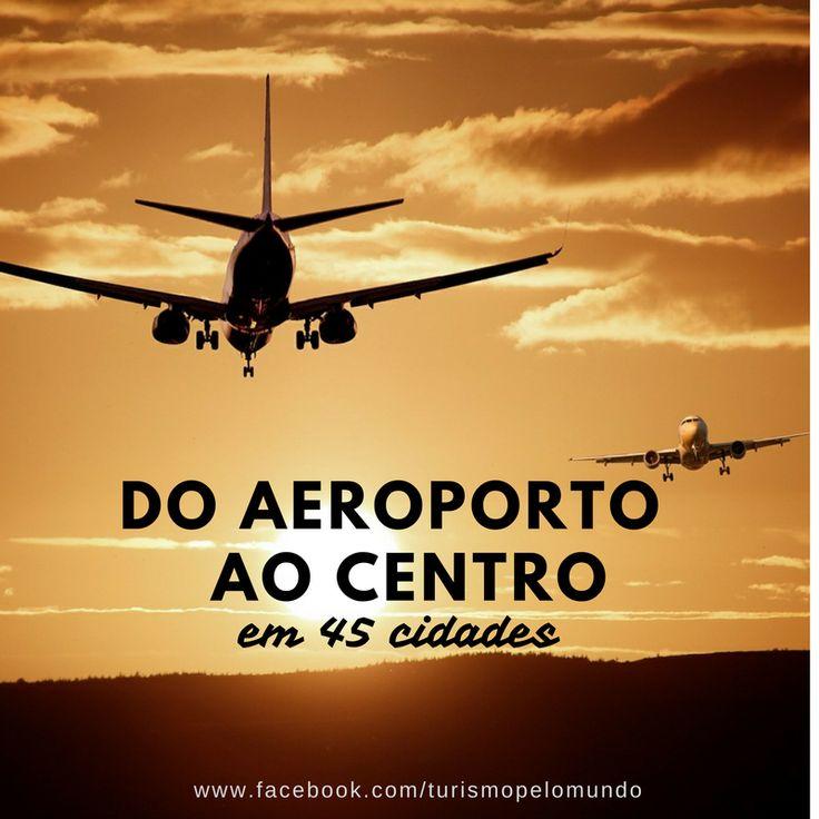 Muito bacana a reportagem que saiu na @FolhaDeSaoPaulo sobre as maneiras de sair do aeroporto para o centro da cidade em 45 destinos.    Corre la no nosso Facebook e clica no link. www.facebook.com/turismopelomundo    #turismopelomundo #agenciadeviagens #travel #turismopersonalizado