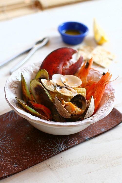 ... jane s recipes seafood bake seafood sauce 1 stove top clam bake cbc ca