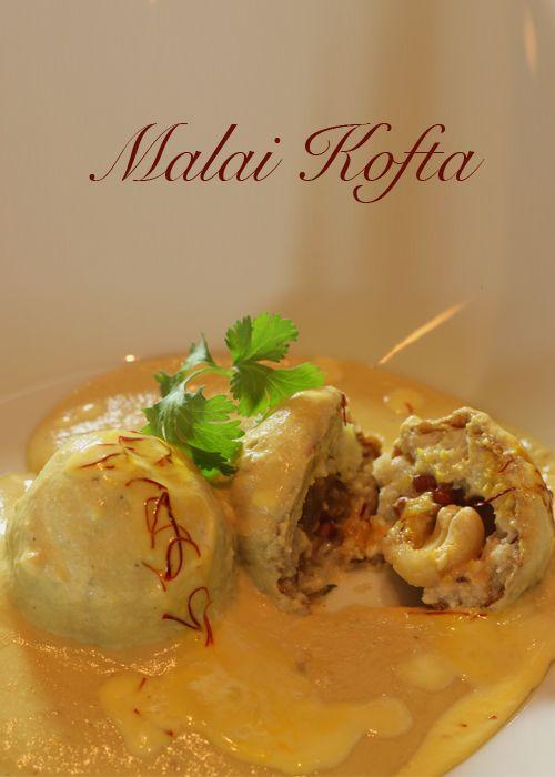 Malai Kofta: Traditional Indian potato & cottage cheese dumplings in a mellow spiced gravy. (Video)