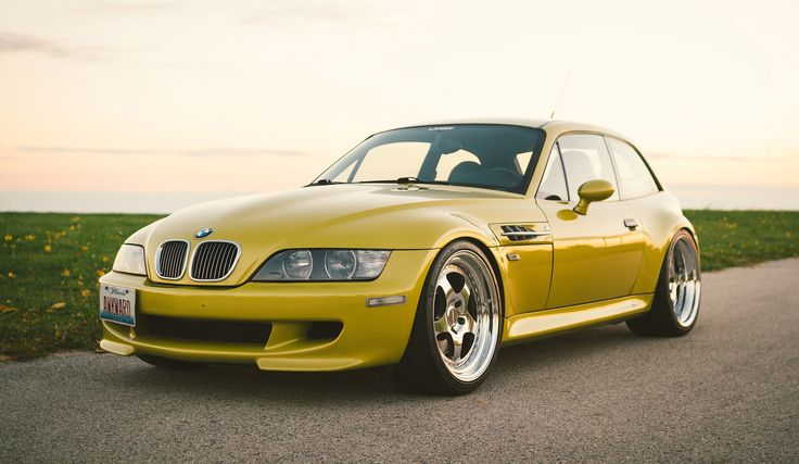 2001 Phoenix Yellow M Coupe for sale