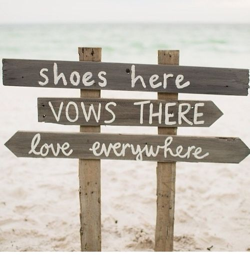 Destination beach wedding. Few guests. Great food. Minimal fuss. It's the marriage that's the main idea. The wedding is just another detail.