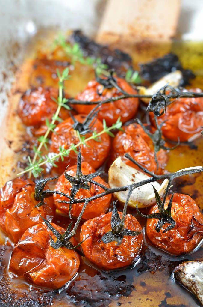 Tomates confites rôties au four                                                                                                                                                                                 Plus