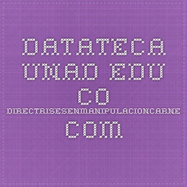 datateca.unad.edu.co  manipulacioncarne.com