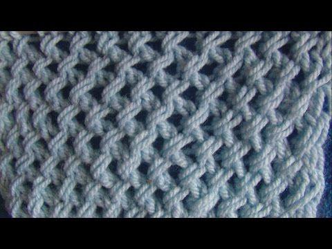 Πλεκτα με βελονες-σχεδιο ΣΤΑΓΟΝΕΣ - YouTube