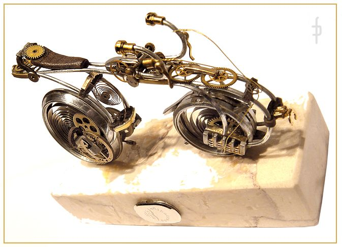 Watch steampunk bicycle. Price 580zł folaron@konto.pl