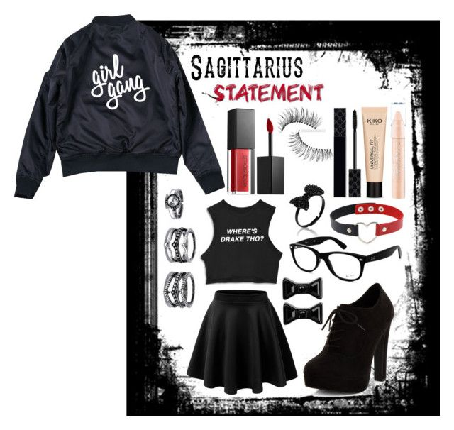 """""""GT"""" by harmzilly on Polyvore featuring beauty, New Look, Ray-Ban, Smashbox, Trish McEvoy, Gucci, LULUS and Marc by Marc Jacobs"""
