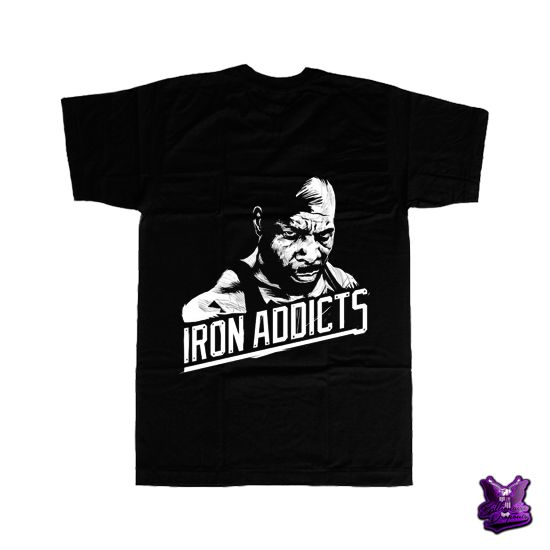 CT Fletcher Iron Addicts T-shirt